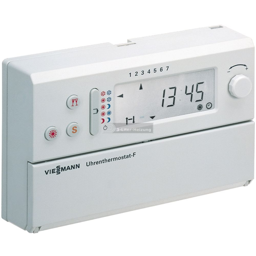 3 liter online shop viessmann uhrenthermostat f. Black Bedroom Furniture Sets. Home Design Ideas