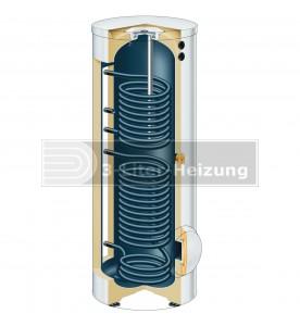 Viessmann Solarpaket mit Vitocell 100-W 400L Vitosol 200-FM SH2F 5,02 m²