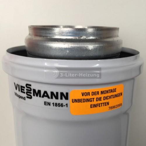 Viessmann 1 Meter AZ-Rohr 70/110