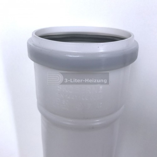 Viessmann Abgasrohr 80 l=1950 (2Stück)