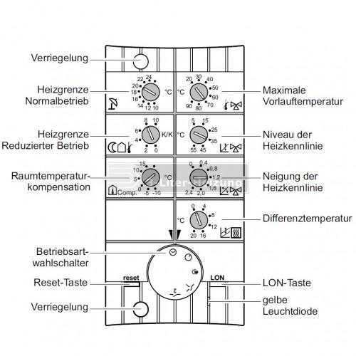 Viessmann Heizkreisregler HKR