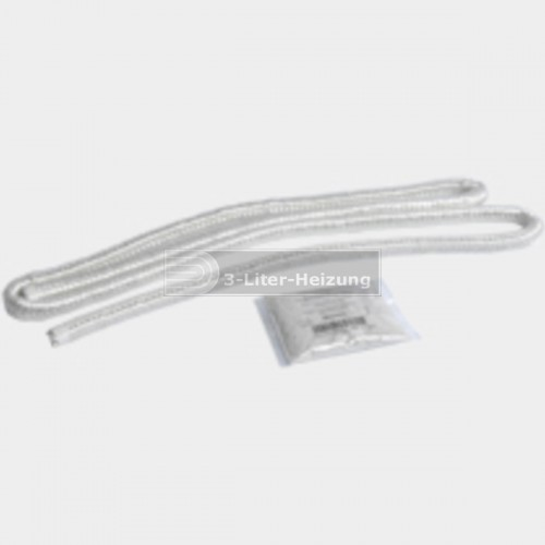 Dichtschnur Glasfaser 3 x 116 mm  mm mit Kleber