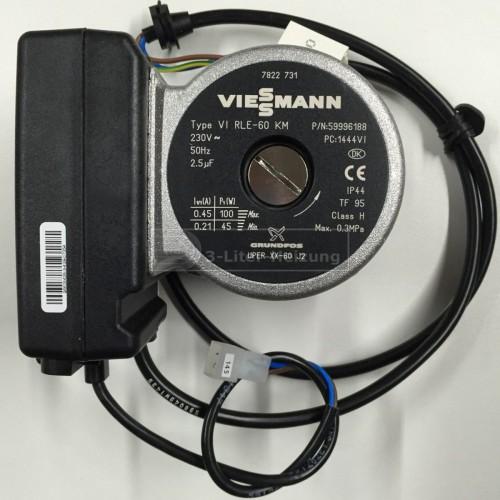 Viessmann Umwälzpumpenmotor VIUPE 60 KM BUS