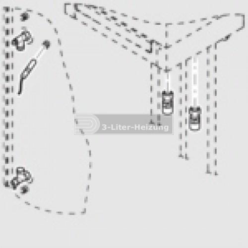 Viessmann Anschluss-Set für Vitocell Schraubausführung