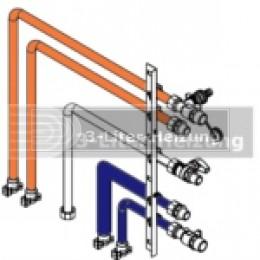 Viessmann Anschluss-Set links / rechts für Vitodens 222-F und 333-F