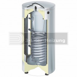 Viessmann Vitocell 300-V 160 Liter Edelstahl vitosilber