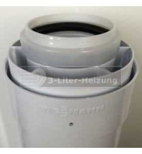 Viessmann 0,5 Meter AZ-Rohr 60/100