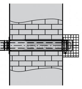 Viessmann AZ-Außenwandanschluss 60/100 mm
