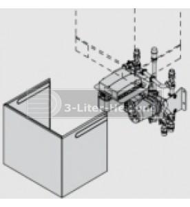 Unterbau-Kit mit Mischer und hocheff. U-Pumpe für Vitotronic 200 HO1A