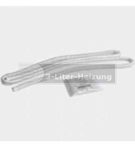 Dichtschnur Glasfaser 16 x 12 mm L = 2000 mm mit Kleber