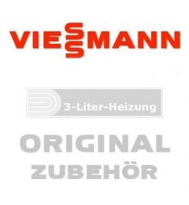Viessmann Universal Dachpfanne D=125 rot
